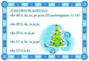 aukiolo joulu2015